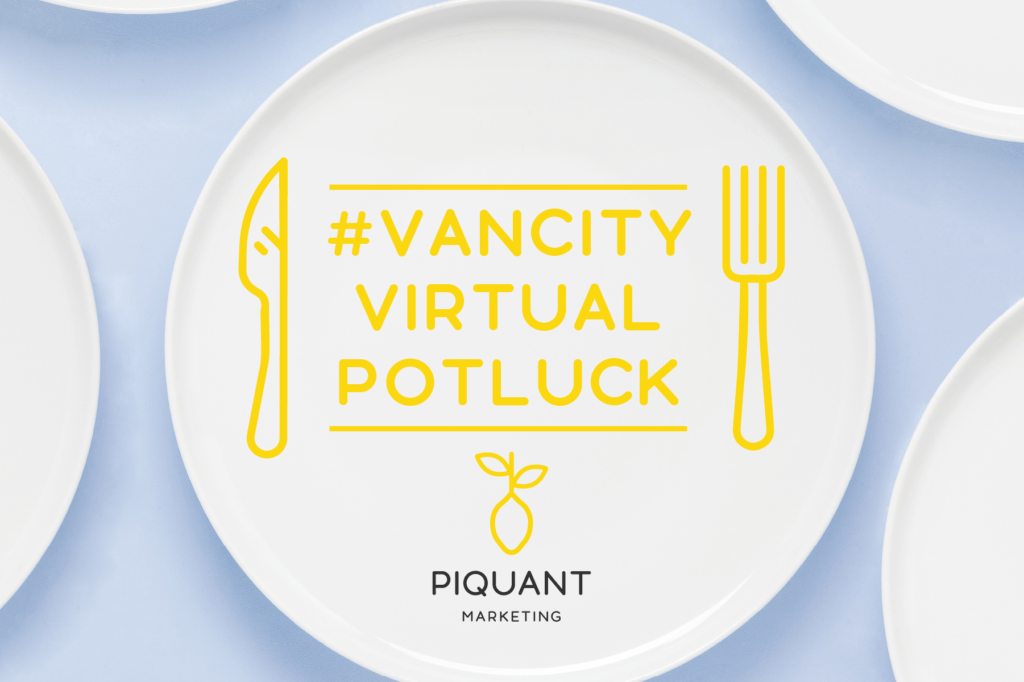 Vancity Virtual Potluck